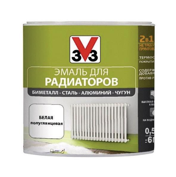 Эмаль для радиаторов V33 RENOVATION