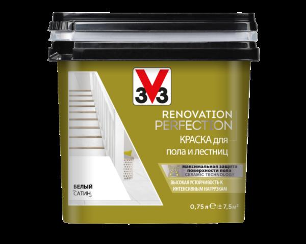 RENOVATION PERFECTION: Краска для пола и лестниц V33