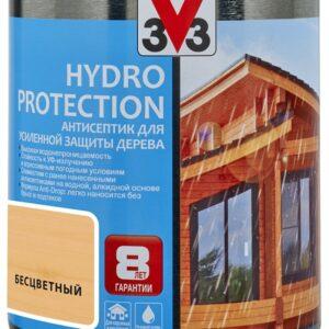 АНТИСЕПТИК ДЛЯ ДЕРЕВА V33 HYDRO PROTECTION 0,9 л