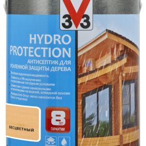 АНТИСЕПТИК ДЛЯ ДЕРЕВА V33 HYDRO PROTECTION 2,5 л